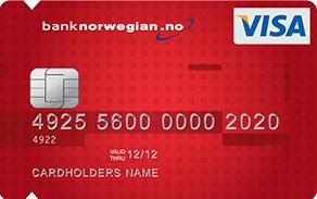 Bank Norwegian Visa tilbyr forsikring • Dinero