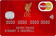 Liverpool FC MasterCard