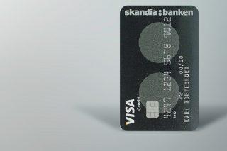 Snart øker Skandiabankens rente på kredittkort, i tillegg til at banken øker valutapåslaget for alle kort.