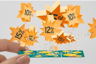 DNBs Supertilbud er et rabattilbud som gis alle kunder med et MasterCard kredittkort.