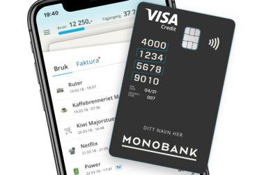 Monobank kredittkort: Satser tungt på det digitale, hvor brukeropplevelsen skal dra inn kundene