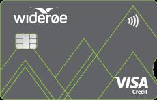 BRAbank Widerøe Visa kredittkort