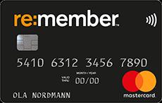 re:member black kredittkort