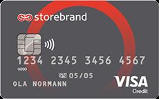 Storebrand Mastercard kredittkort